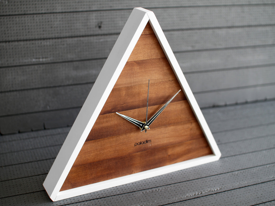 TRIK triangle wall clock