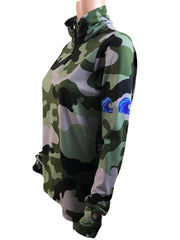NEW - WAVE Quarter Zip - camo