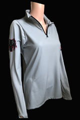 NEW - RAM Quarter Zip - Grey