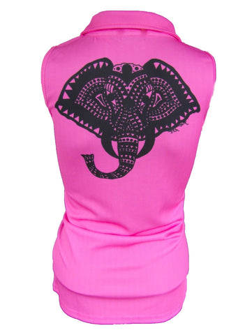 "Ladies ""Tribal"" Sleeveless Performance Polo"