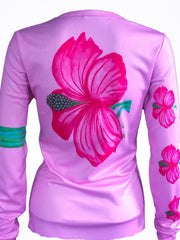 """Hibiscus"" performance long sleeve"