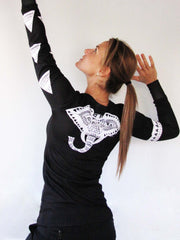 """Tribal"" Performance Long Sleeve - Black"