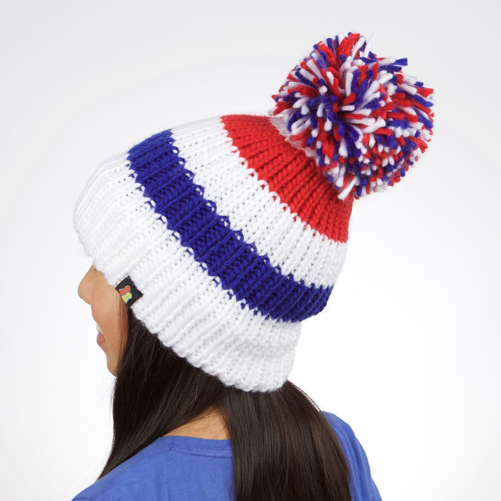 British National Champion Pom Beanie – Big Bobble Hats Canada e7d48f1b180