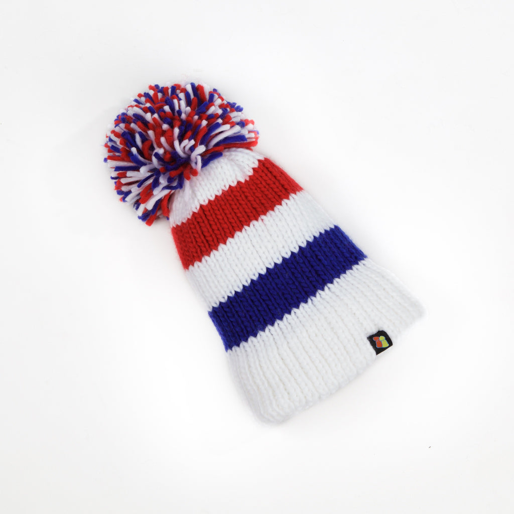 c1e53df8090b1 British National Champion Pom Beanie – Big Bobble Hats Canada