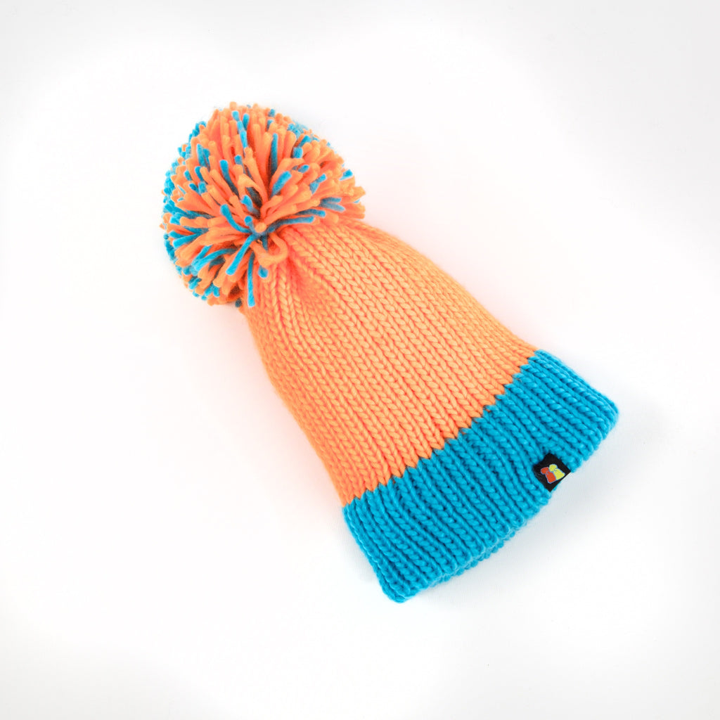 The Fiery Lagoon Pom Beanie – Big Bobble Hats Canada 8fd8ca98d629