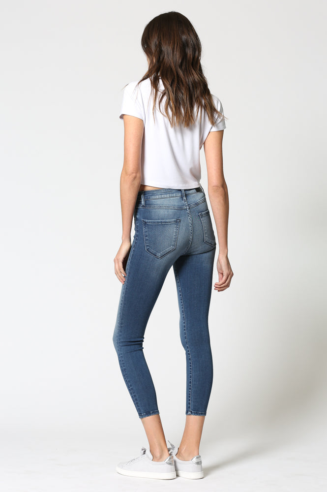 TAYLOR  <p/> Dark Wash High Waist Skinny