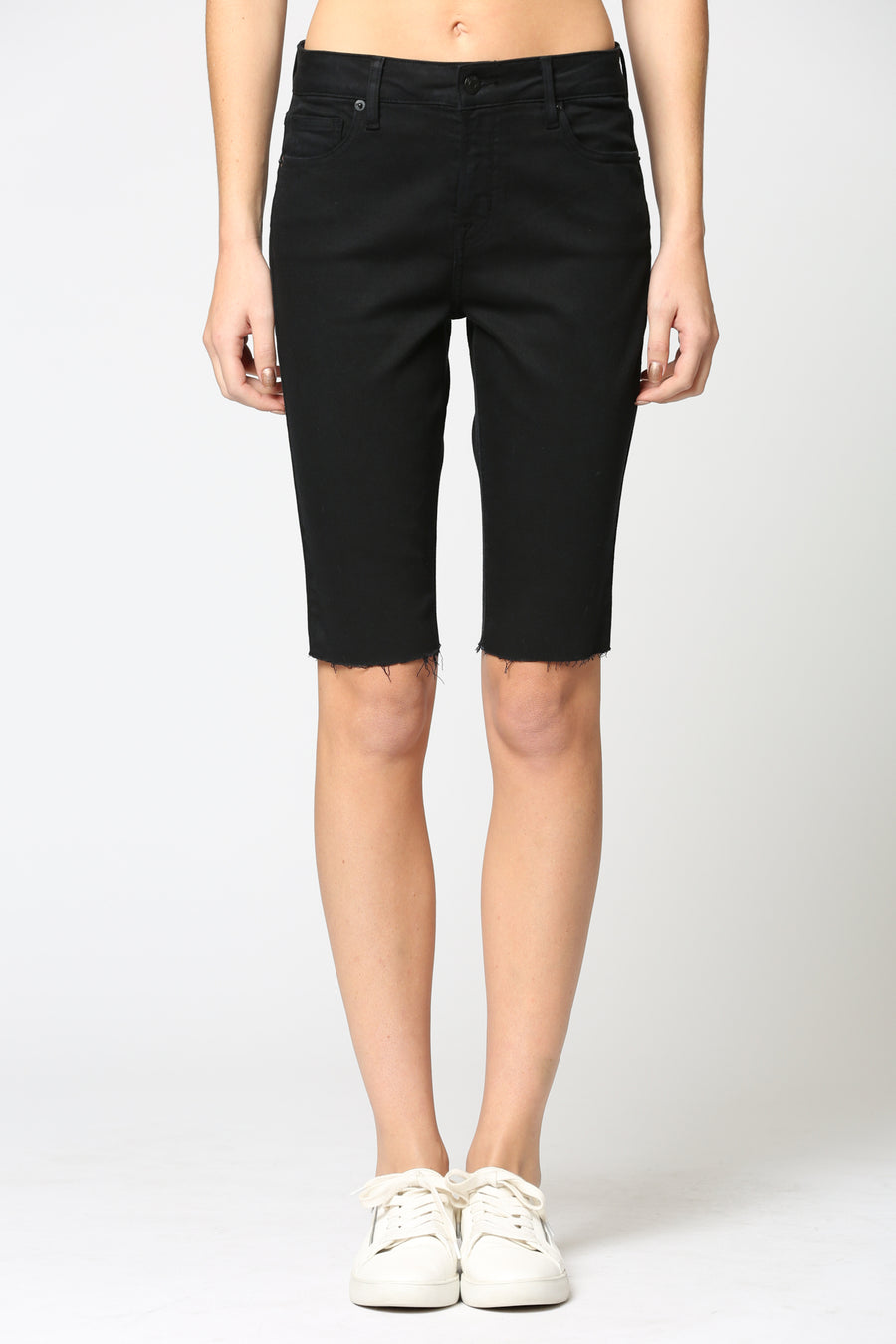 MARLIN <p/> BLACK STRETCH BERMUDAS