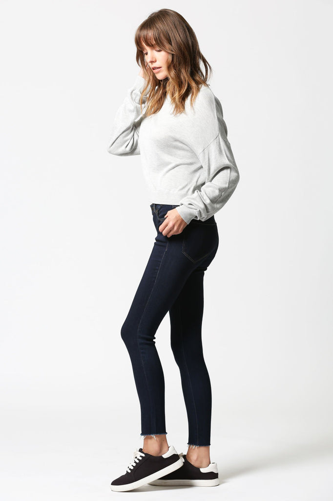 AMELIA <p/> Clean Rinse Wash Skinny with Raw Hems