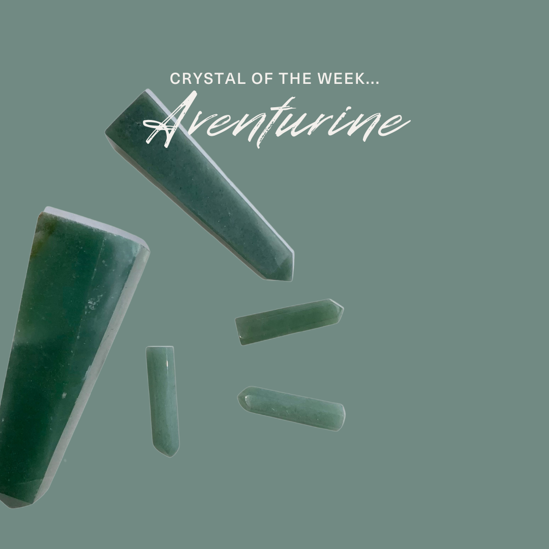 Crystal of the Week: Green Adventurine