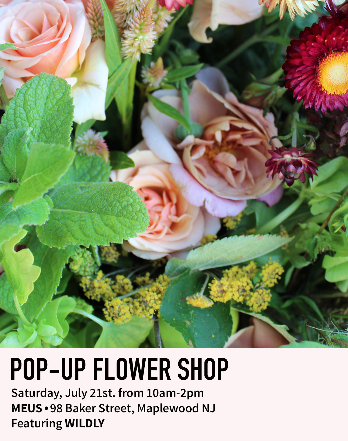 FLORAL SHOP POP UP
