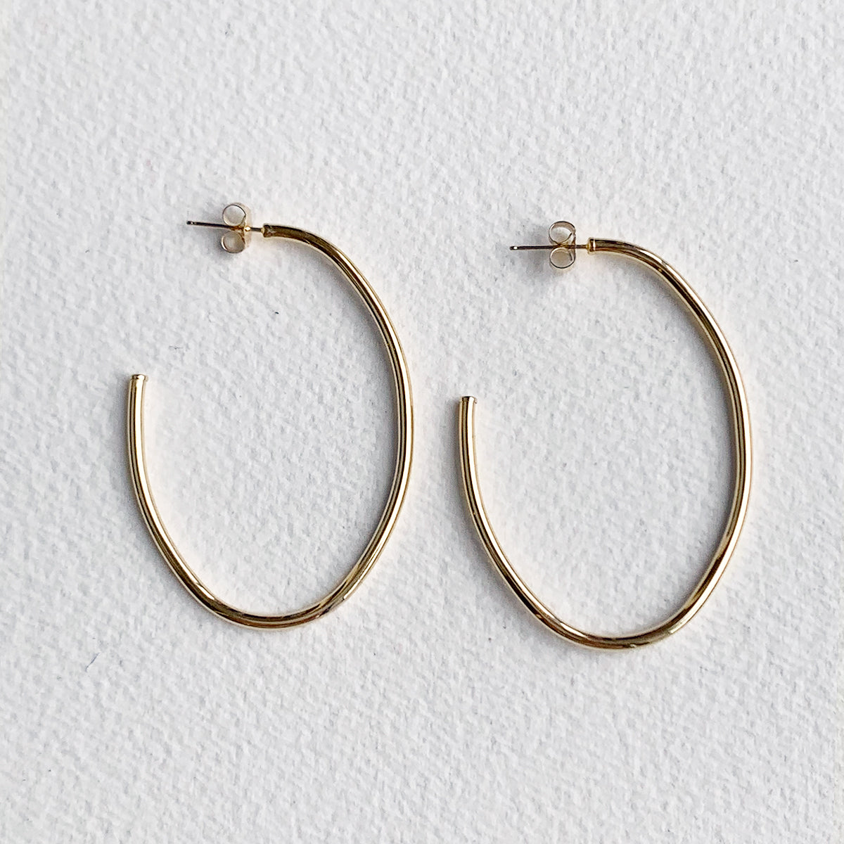 Lupe Gold Hoops
