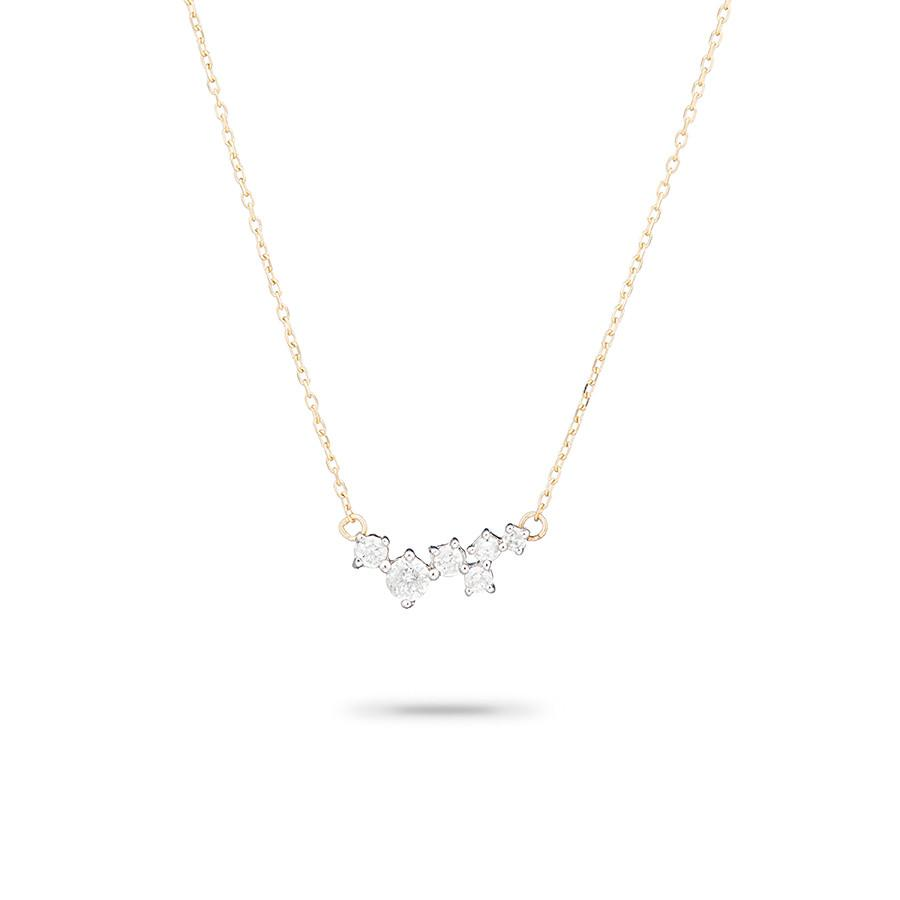 ADINA REYTER SCATTERED DIAMOND NECKLACE