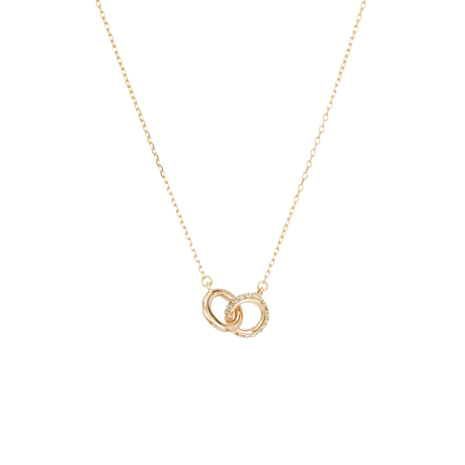 Adina Reyter Interlocking Loop Necklace Gold