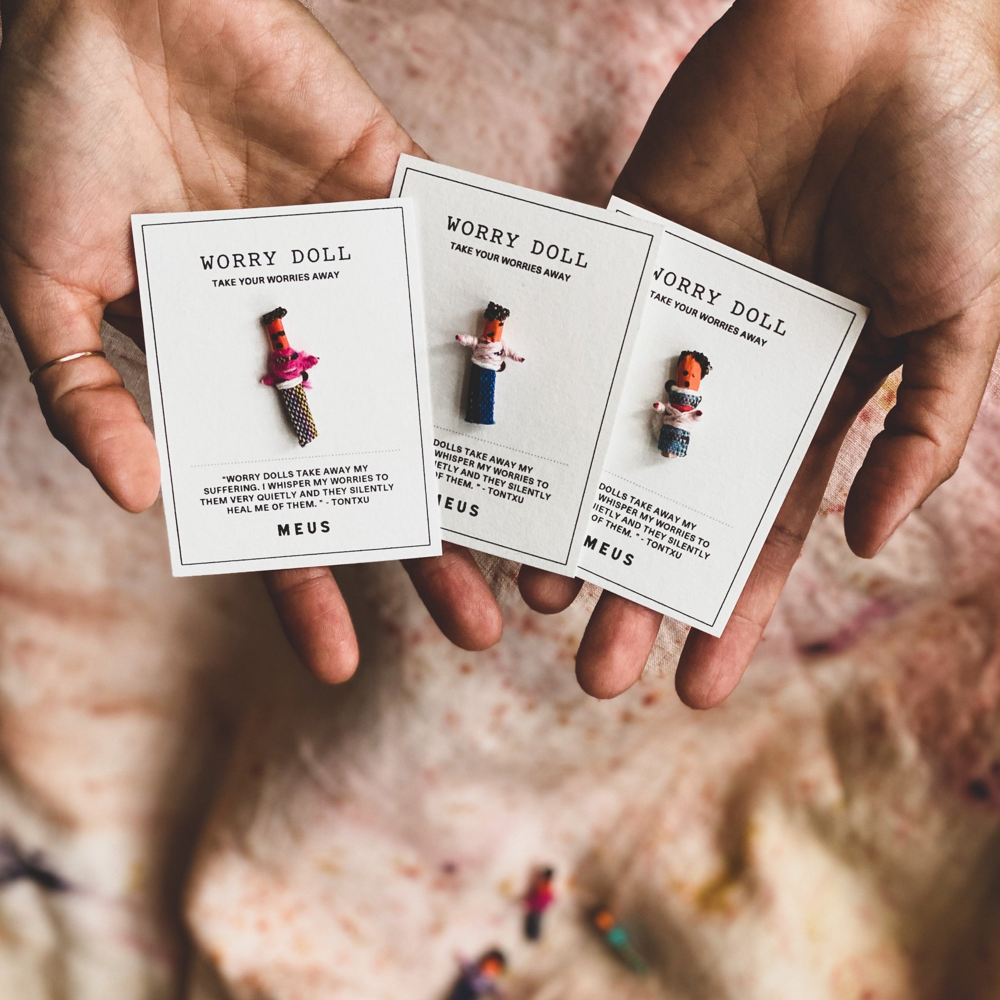 Worry Doll Card