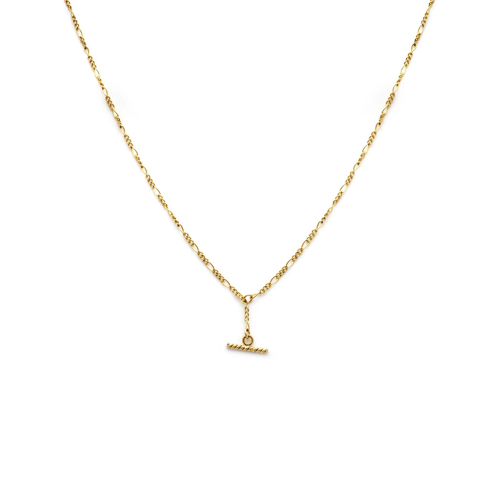 Leah Alexandra Albert Mini Necklace