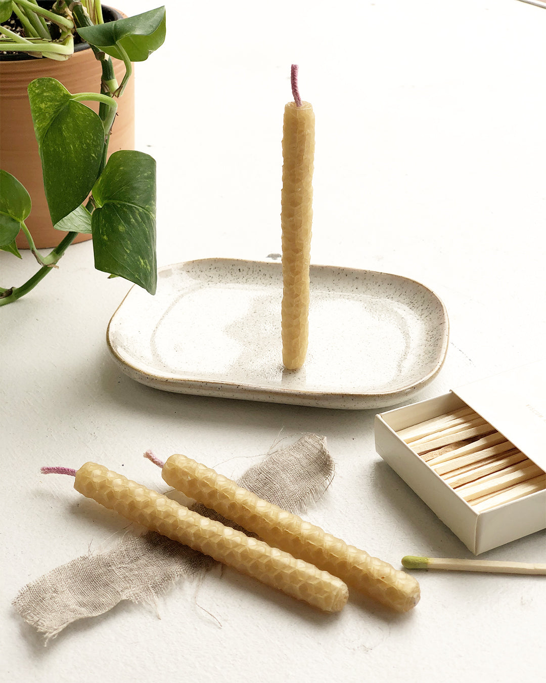 Handcrafted Beeswax Ritual Candles