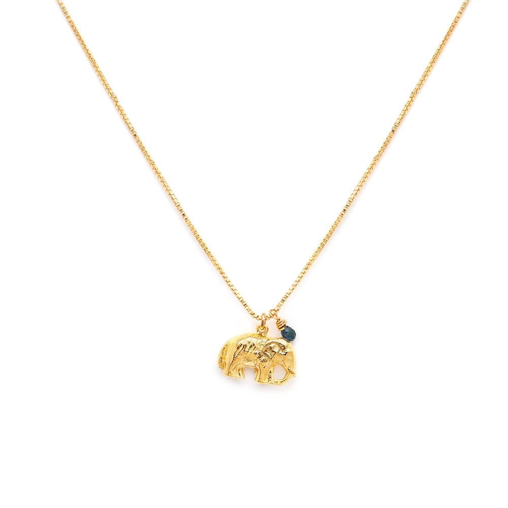 Leah Alexandra Elephant Necklace