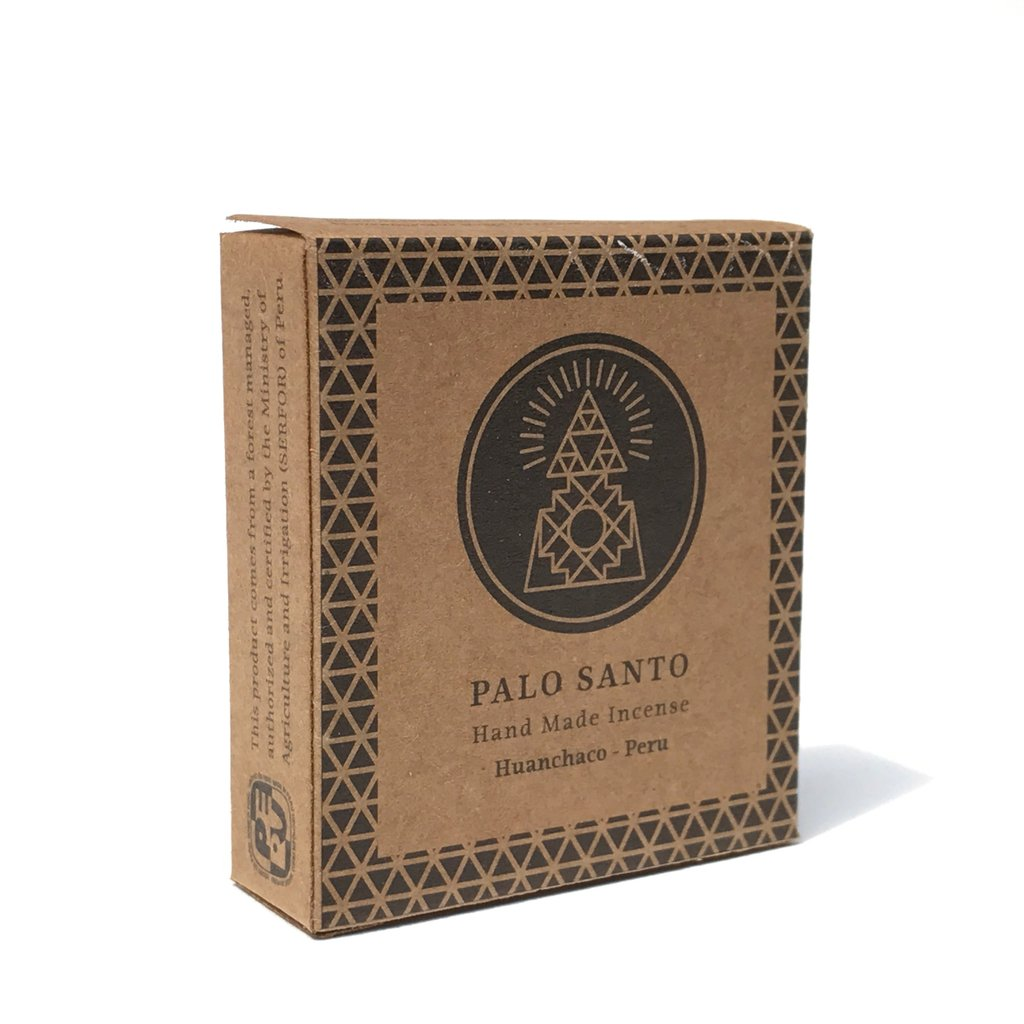 INCAUSA PALO SANTO WOOD INCENSE BRICKS