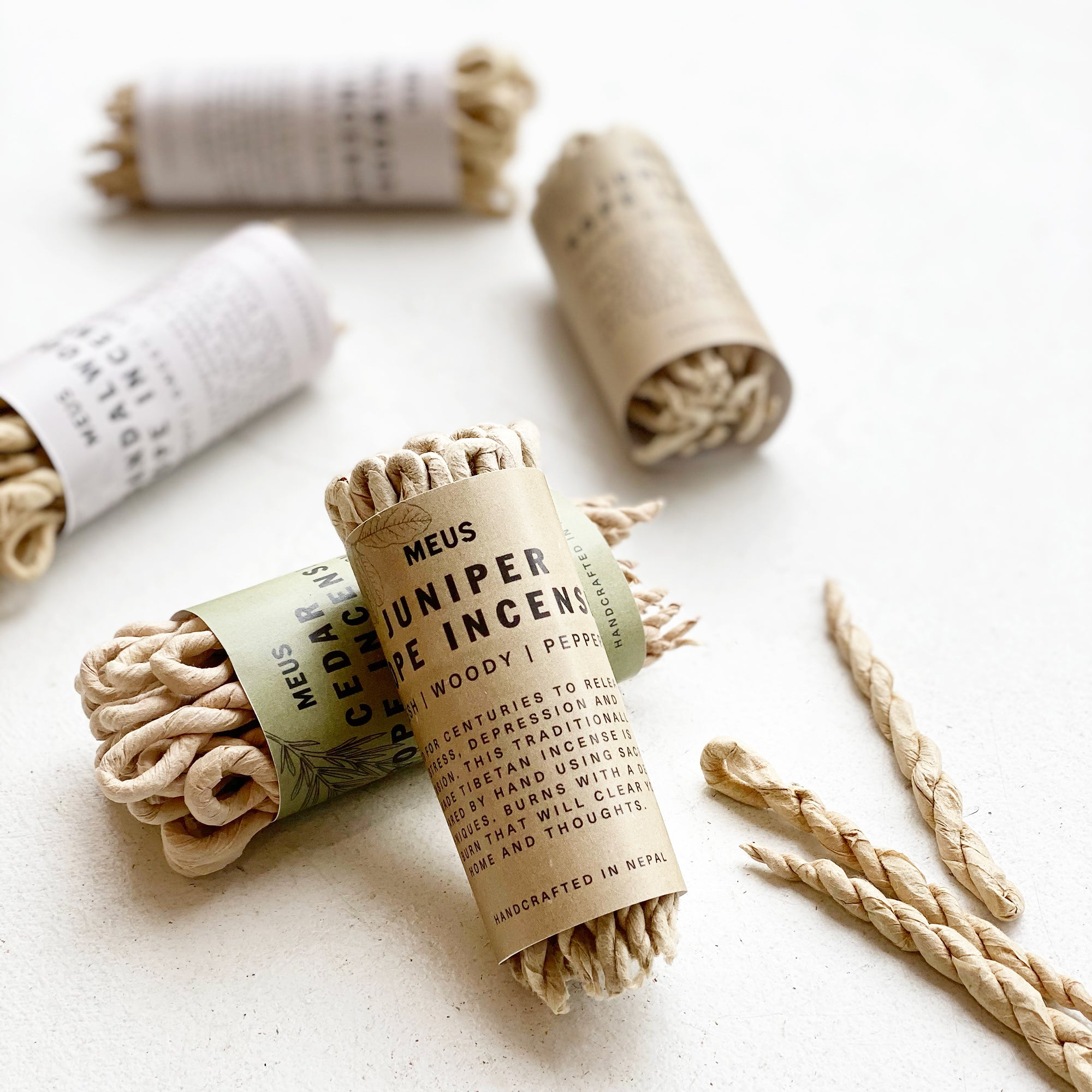 Juniper Rope Incense