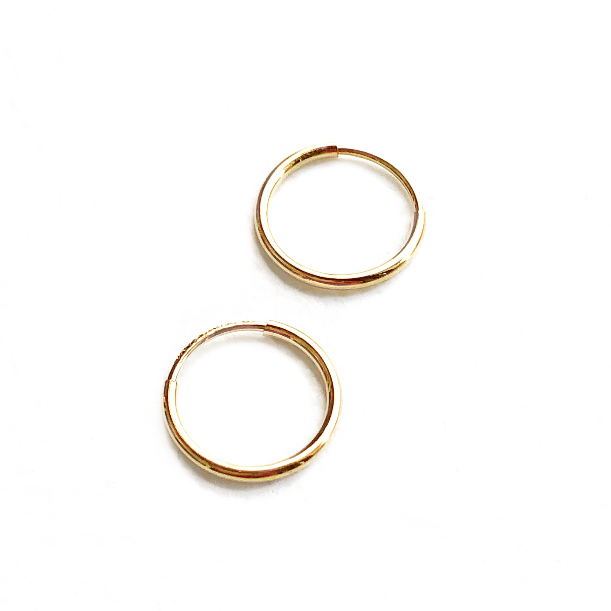 Maribel Gold Hoop Earrings