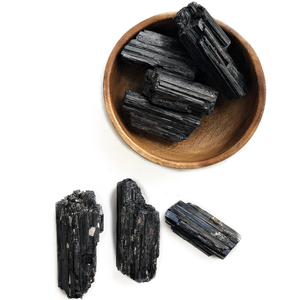Black Tourmaline Chunks