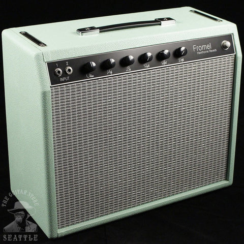Fromel Hawthorne Reverb in Surf Green