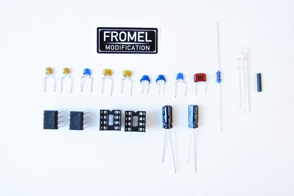 Fromel Supreme Mod Kit for Boss BF-2 Flanger Pedal