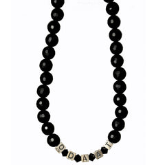 ODAAT (One Day at a Time) Onyx Sterling Choker