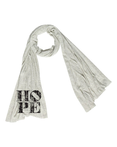 HOPE Oversized Scarf | Inspirational Fashion