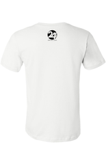 Progress Not Perfection Men's Classic T-Shirt White with Black | Sobriety T Shirt