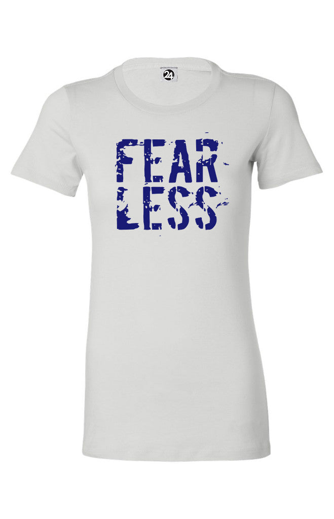 FEAR LESS Women's Classic Tee | Inspirational Fashion