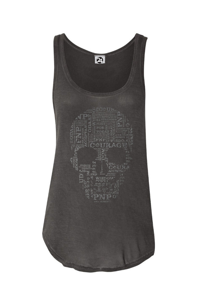 SKULL Oasis Wash Tank | Inspirational Fashion