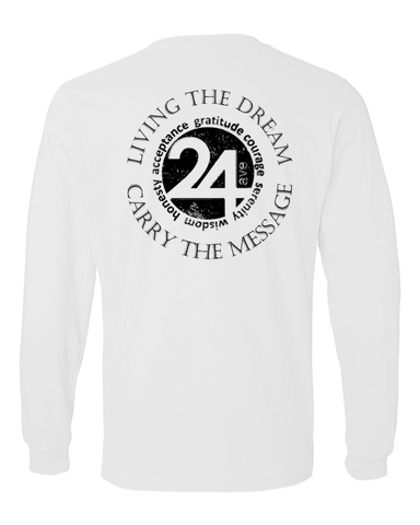 Living The Dream Long Sleeve T-Shirt | Recovery Gift