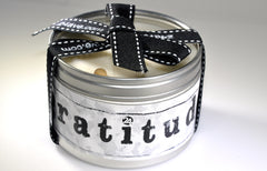 Soy Gratitude Candle | Recovery Gift