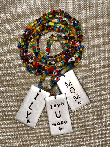 MOTHER'S DAY MULTI SEED BEAD NECKLACE | Inspiration Gift