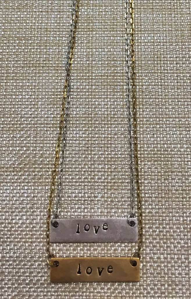 "16"" Mini Nameplate Necklace 