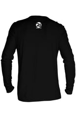 Spiritual Warrior Thermal long-sleeve Unisex T-shirt for Men | Black