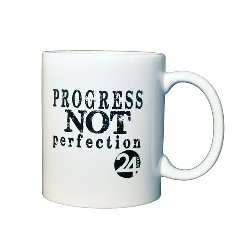 Ceramic Mug - Progress Not Perfection