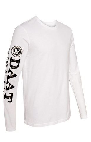 ODAAT Thermal long-sleeve Unisex T-shirt | One Day at a Time |white with navy print
