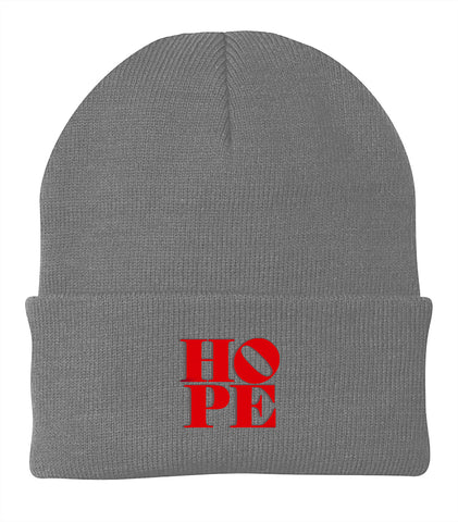 HOPE Cuffed Knit Beanie | Be Inspired