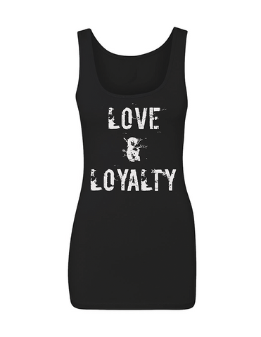 "LOVE & LOYALTY Women's ""THE JERSEY"" Tank 