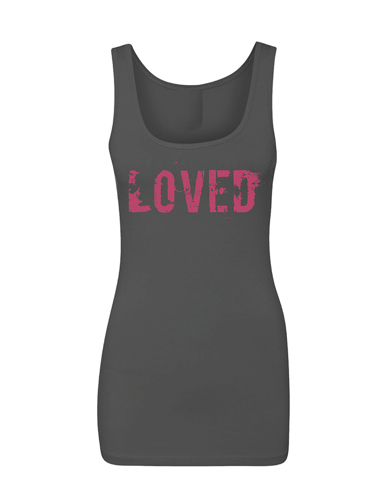 "LOVED Women's ""THE JERSEY"" Tank 