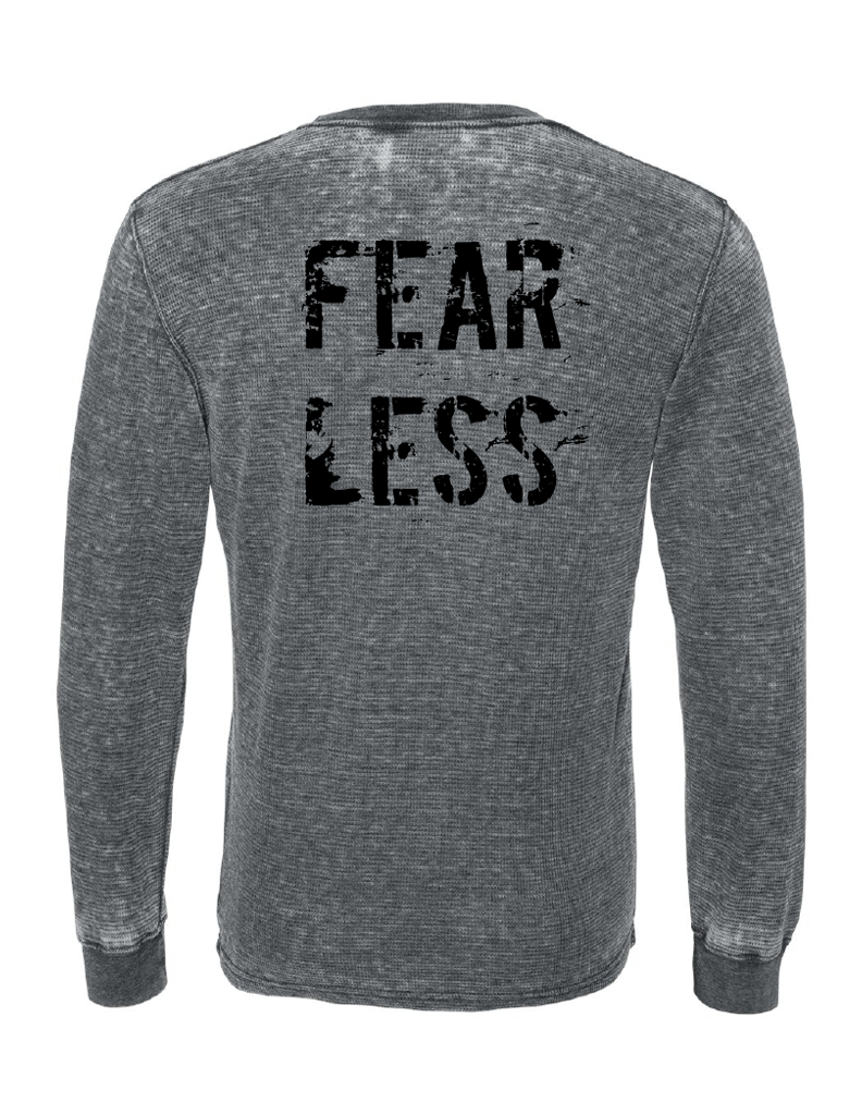FEAR LESS Unisex Vintage Long Sleeve Thermal | Inspirational Fashion