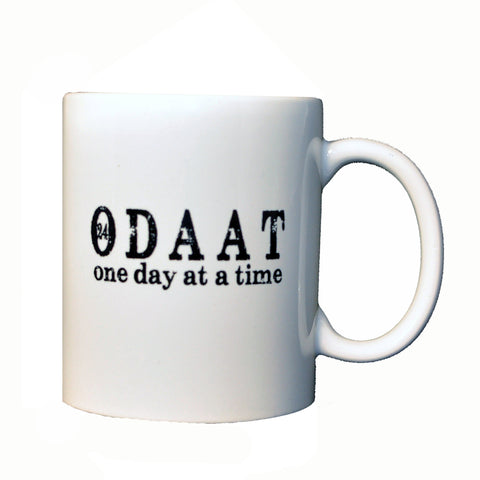 Ceramic Mug - ODAAT One Day at a Time Ceramic Mug | Recovery and Sobriety Mug