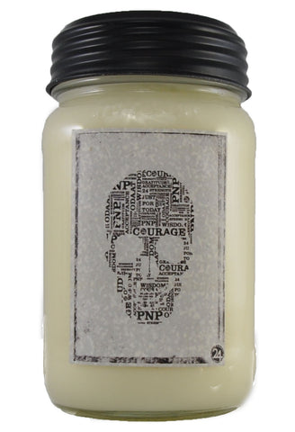 Soy Skull Candle | Recovery Gift