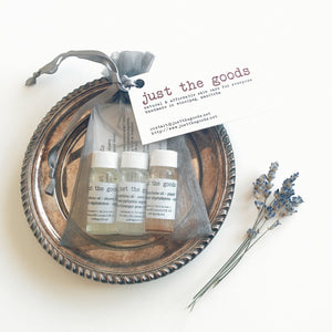 Just the Goods vegan perfume + aromatherapeutic oils - just the goods handmade vegan crueltyfree nontoxic skincare