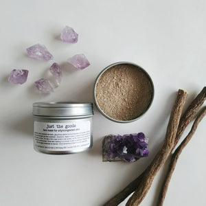 Just the Goods vegan face mask for oily/congested skin - just the goods handmade vegan crueltyfree nontoxic skincare