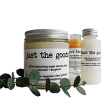 Just the Goods basic vegan shaving kit without shaving brush