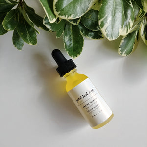 petal, leaf, root. by Just the Goods facial serum for oily skin