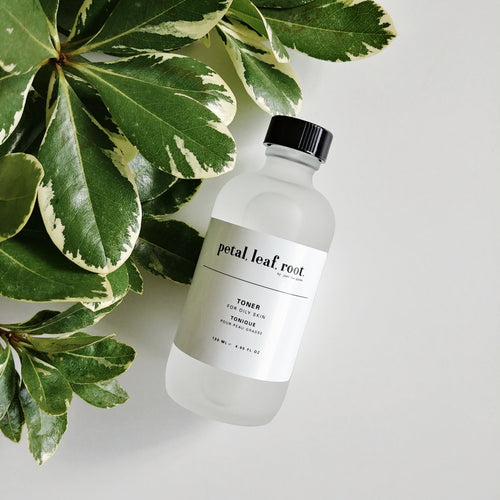 petal, leaf, root. by Just the Goods facial toner for oily skin